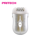 PRITECH 3 Interchangeable Heads Lady Hair Removing Shaver Women Electric Epilator