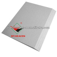 hot selling 2mm book binding grey cardboard sheets
