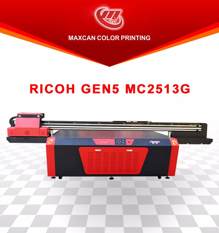 Manufacturer direct sell industrial uv flatbed printer large format printing machine