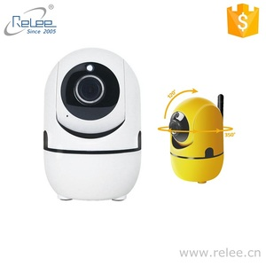 Relee network cam mini robot PTZ wireless P2P WIFI camera IP for home surveillance monitor