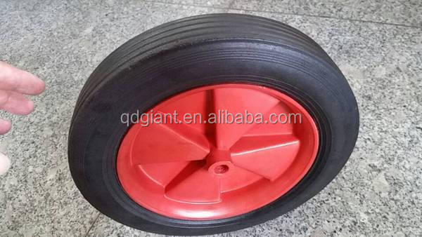 "Hand truck solid rubber wheels 10""x1.5"""