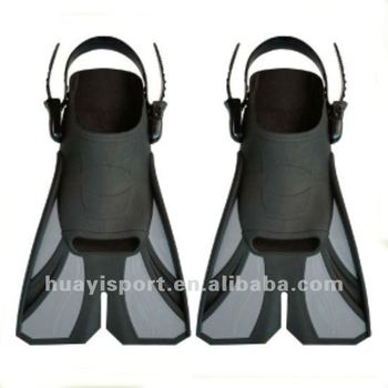 6 Sizes Anti-slip Spider Swim Training Fins Adjustable Strap For Adults Scuba Diving Flippers