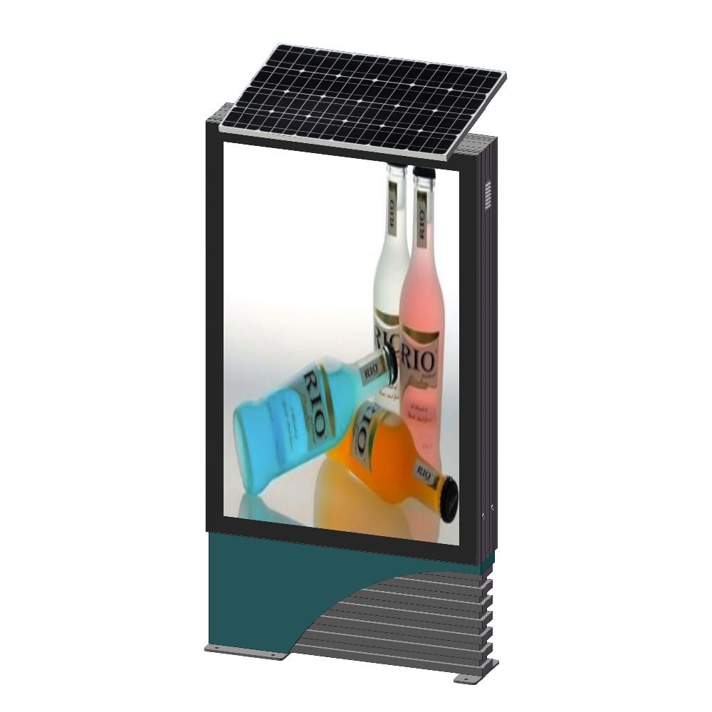 product-YEROO-Solar power advertising light box mupi-img