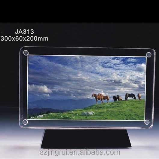 fashion crystal / glass photo frame JA313