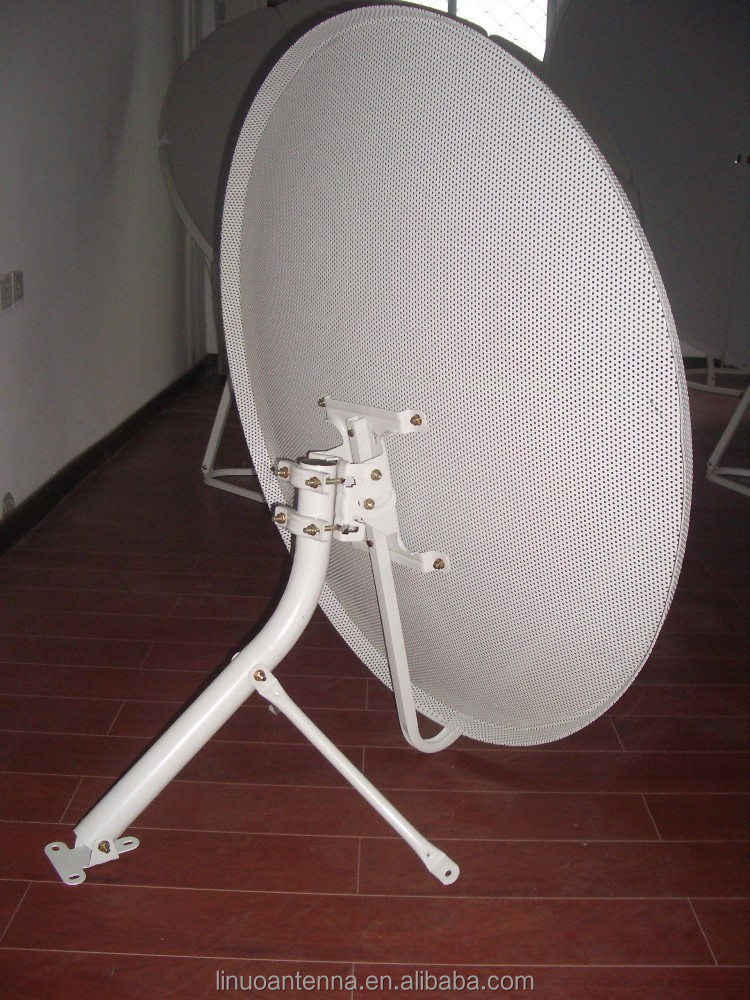 ku band 90cm mesh satellite dish antenna/polar mount tv antenna