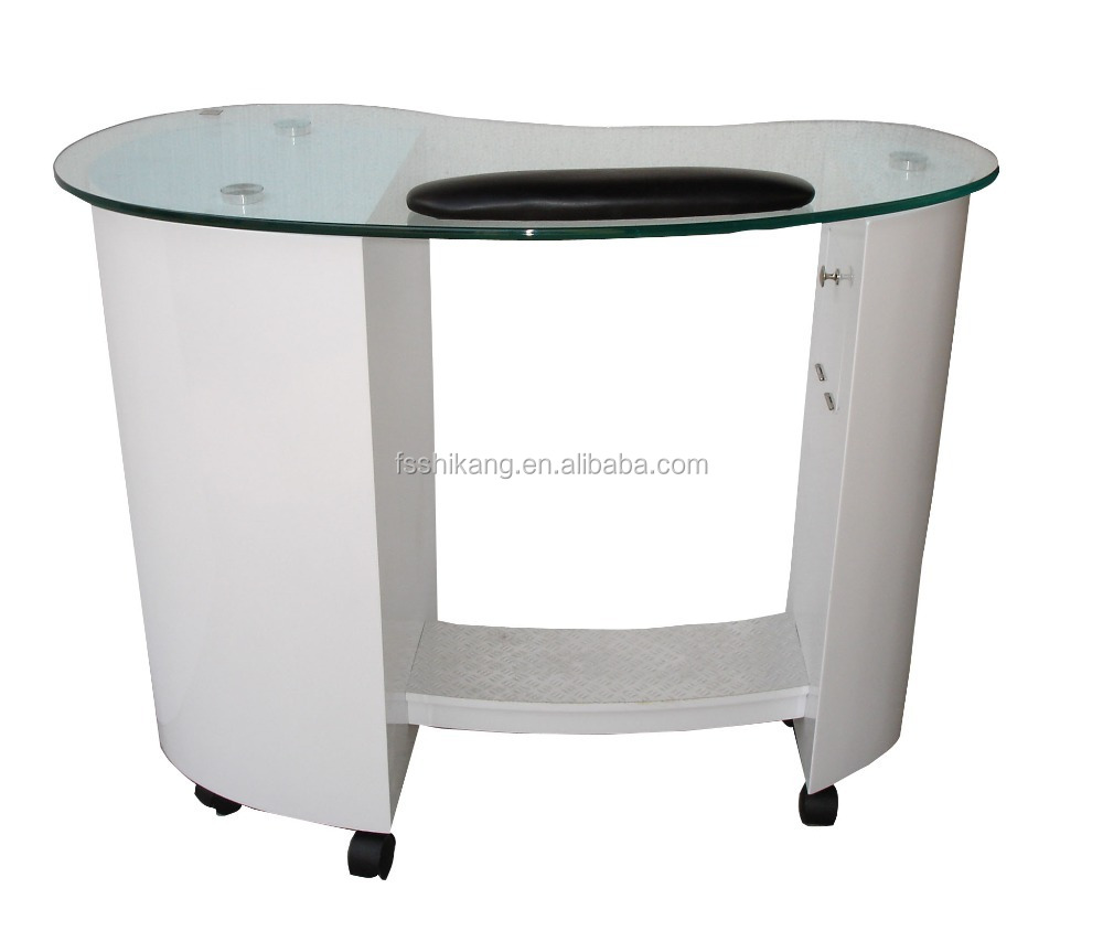 modern white manicure nail desk nail table sale cheap sk e020 buy manicure tables for sale. Black Bedroom Furniture Sets. Home Design Ideas