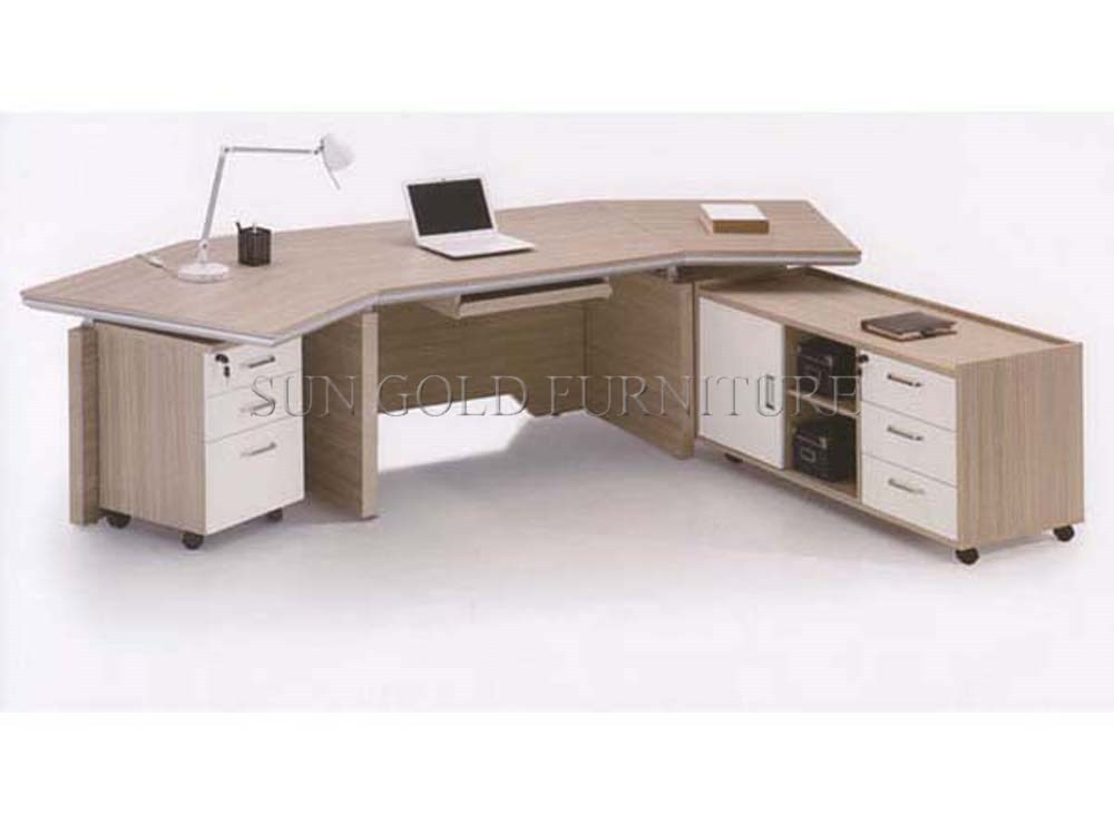 Melamina de alta calidad 2016 nuevo moderno ejecutivo oficina set ...