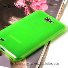 transparent colors phone case for samsung I9220 Galaxy NOTE N7000