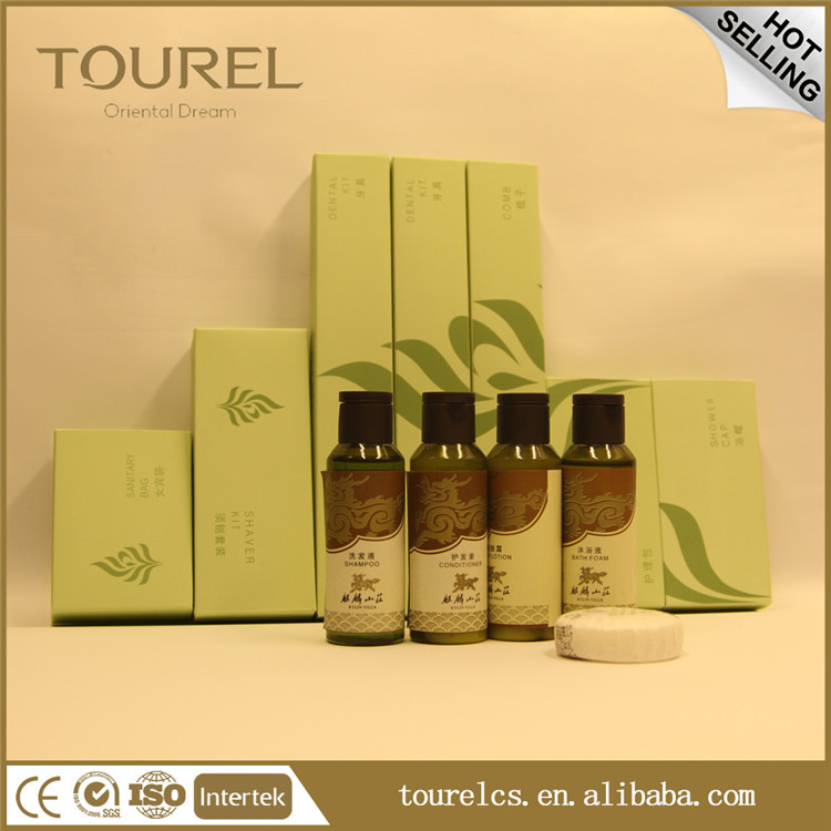 13 Set items luxury hotel bathroom amenities set