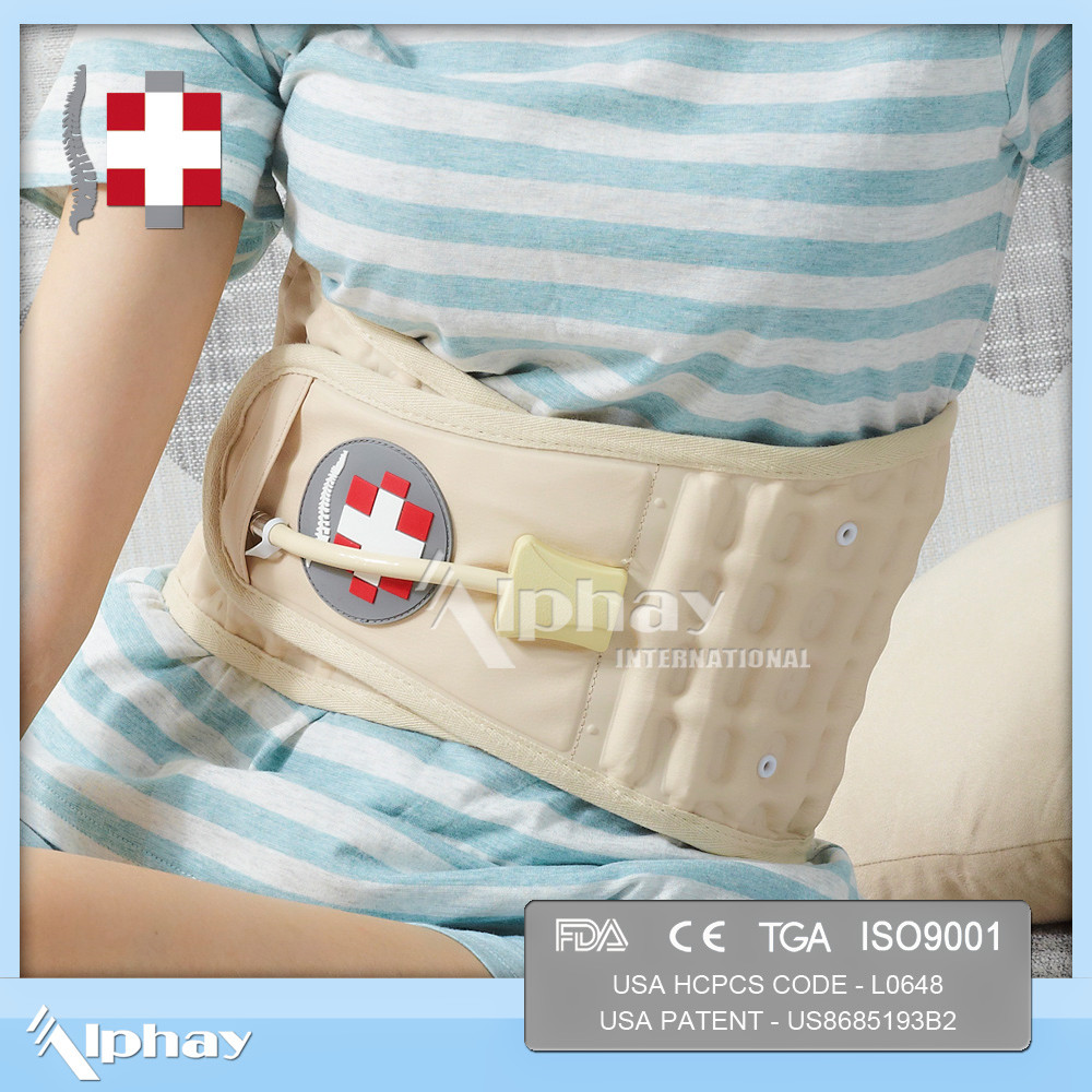 New Decompression Back Belt Spinal Pain Relief Brace Support Waist Extender Belt