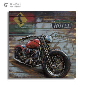 Hot Selling framed metal art work new products 3d picture Lenticular Painting