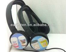 quality cheap earphones and headphone promotional
