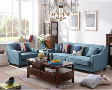Hot Sale American Style Fabric Sofa Living Room Sofa Furniture