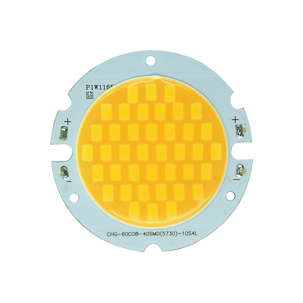 20w COB LED chip light-emitting area 43mm warm white,white, cool white DC 30-35V  led light lamp bead for cob led downlight DIY