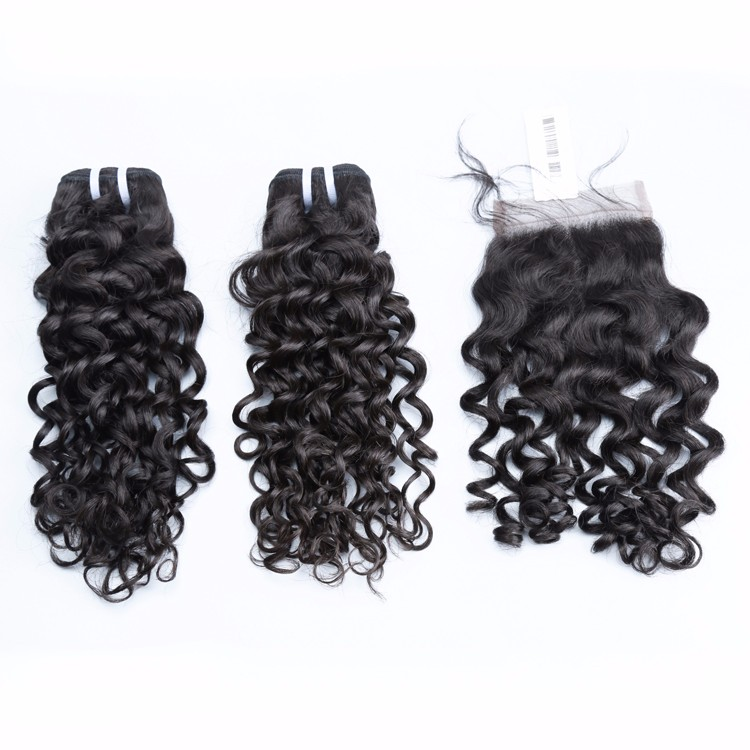 Unprocessed Jerry Curl Peruvian Virgin Natural Human Hair