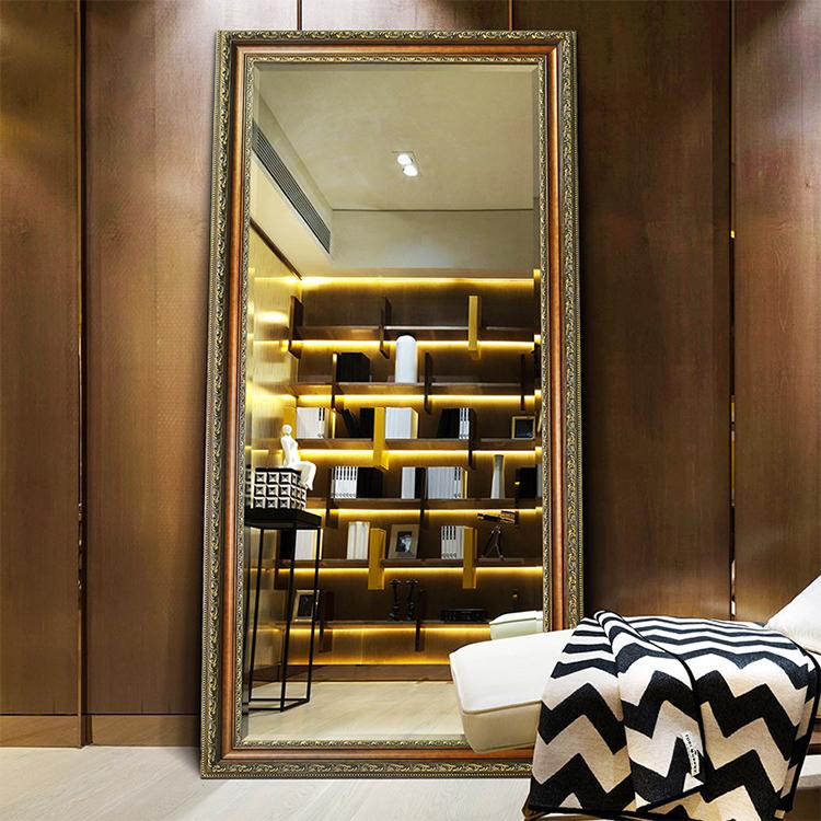 Wall Mounted Full Length Dressing Room