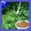 Top quality black cohosh p.e. 2.5-8% Triterpene Saponins, Black Cohosh Extract powder