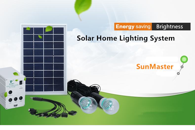 Epistar led solar panel lighting kits vision protection