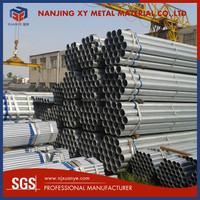Various types of Solid scaffolding galvanized steel pipe price