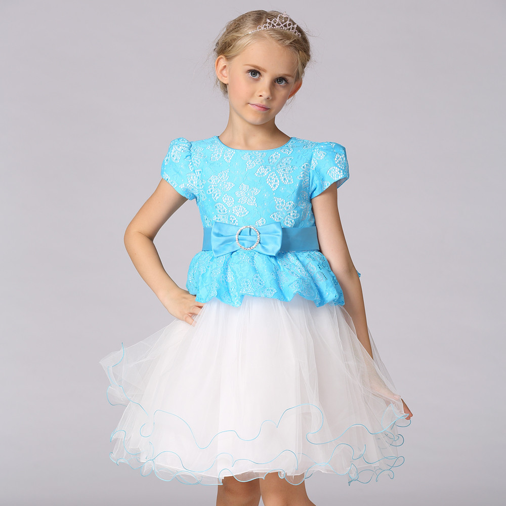 Girl Dress Models Children Frocks Designs Princess Baby Party ...