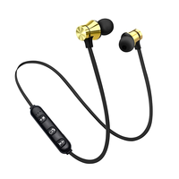 Free Sample Magnetic Type Sport Headset Wireless Bluetooth Earphones Magnetic, Foste Mini Stereo Micro Bluetooth Headphone!!