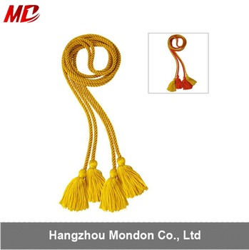 High quality polyester Graduation Honor cords