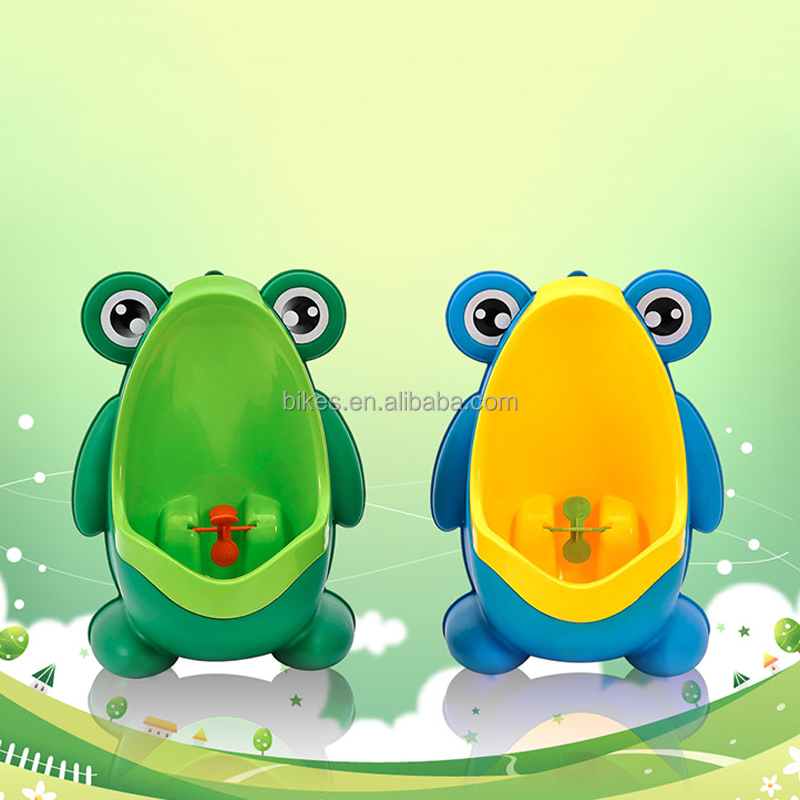 Cartoon Frog Kids Boy Toilet Pee Wall-Mounted Baby Potty Toilet Training Boy Children Stand Vertical Urinal Boy Toilet