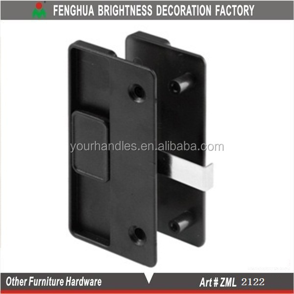 Sliding Screen Door Latch And Pull,Black Plastic Pulls,Nylon Latch ...