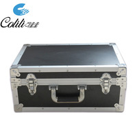 Hard plastic custom aluminum instrument equipment tool case