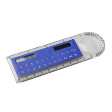 8 Digit Displayed 10cm Solar Power Ruler Calculator