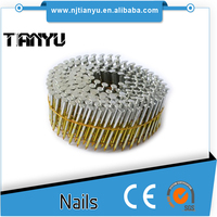 INDUSTRIAL USE STAINLESS STEEL RING SHANK COIL SIDING NAILS