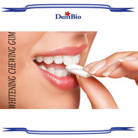 Halal teeth whitening chewing gum private label toothpaste chewing gum