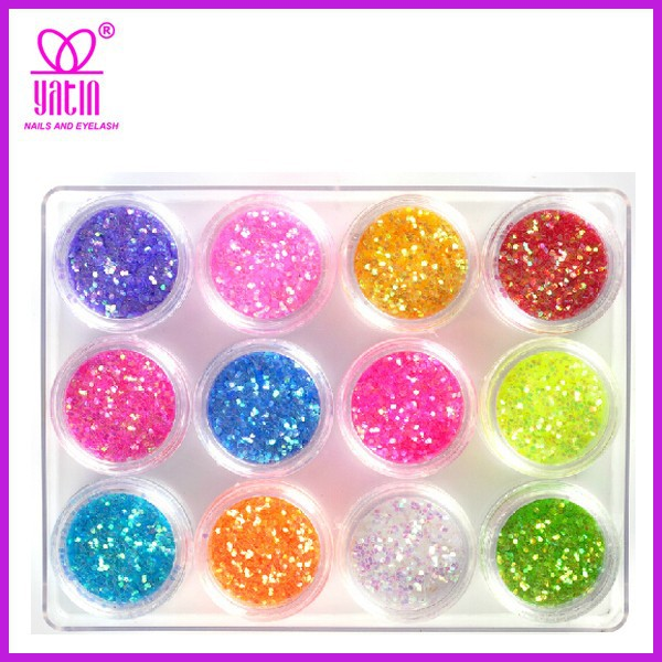hot sell fashion round nail stickers