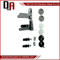 China manufacture stainless steel toilet seat hinges with slow close damper