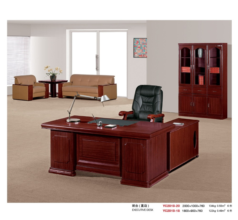 High Quality Best Price Steel Office Desk Hdf Wood Factory