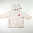kids girl boy jacket knitted cardigan with hood kids clothing
