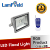 UL GS ROHS Certification 20W LED RGB Flood Light With DMX512 RF IR Control