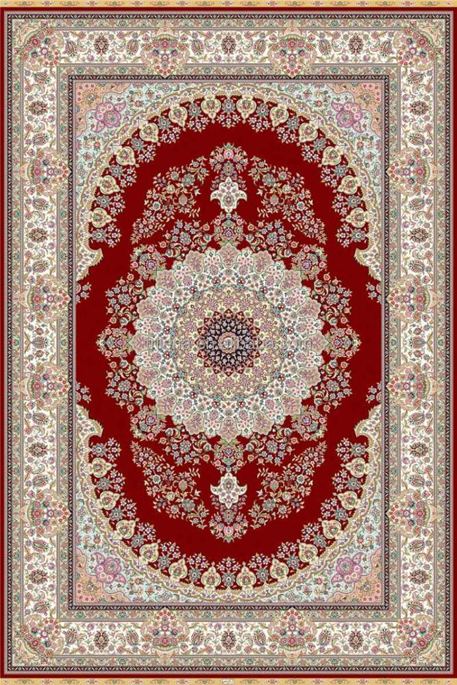 Latest Arrival good quality acrylic and silk rug from China