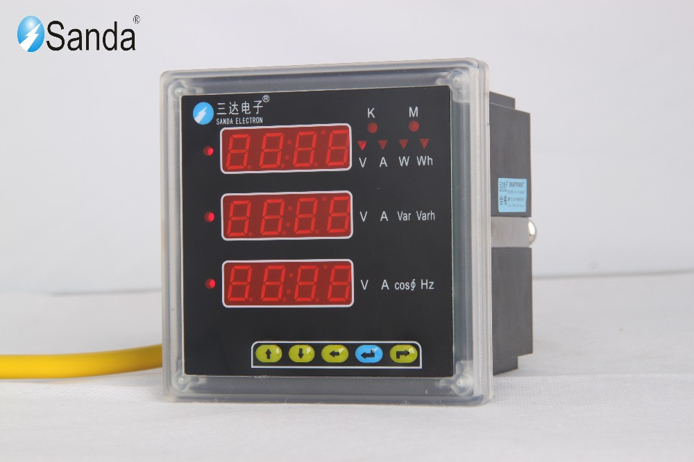 Digital Multifunction Panel dc energy meter