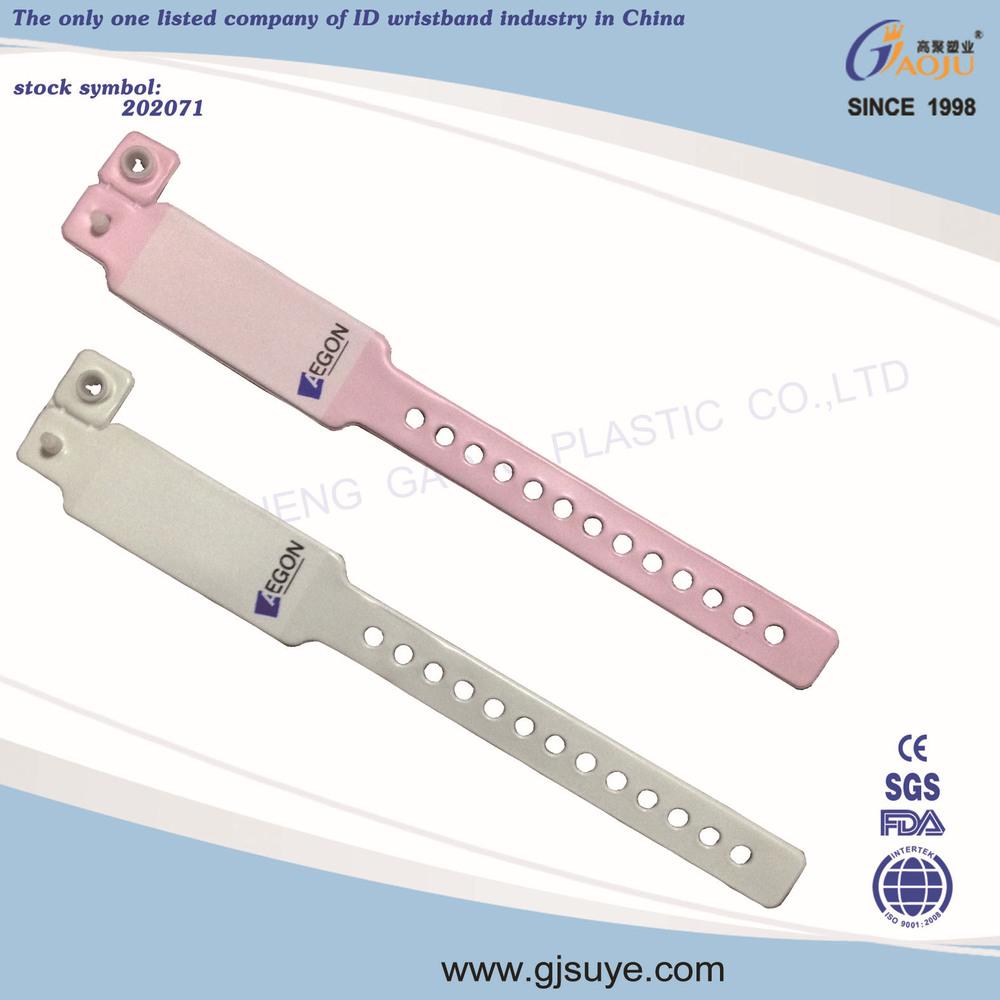 Disposable Kids Id Bands Patient Id Bracelets Hospital Id