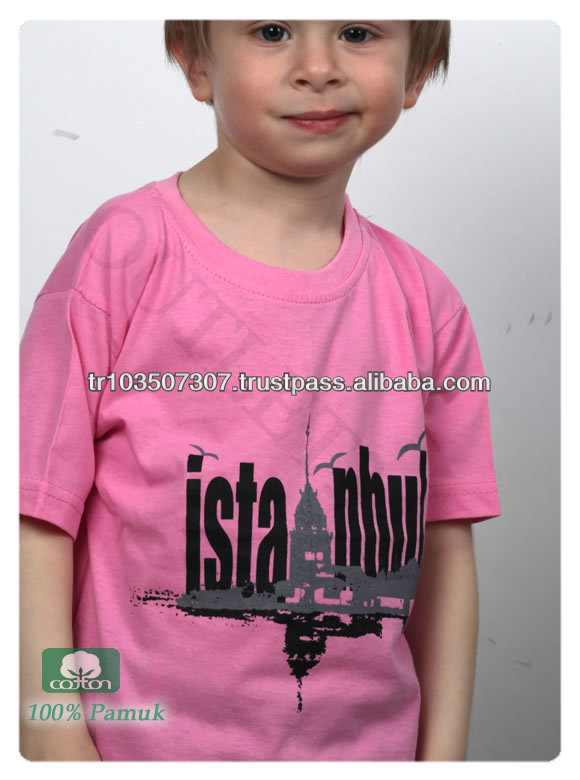 t-shirt children/2014 fashion printed children t-shirt