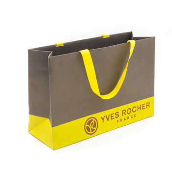 Unique Personalized Kraft Paper Gift Bags With Handles Fashionable