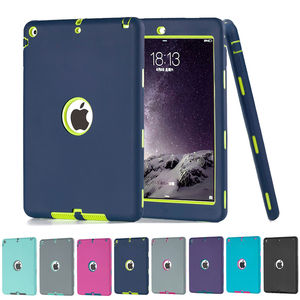 Robot Hybrid Case Shockproof Armor Cover Heavy Duty Hard Case Cover For Apple iPad Mini1 2 3 4 iPad Air Ipad pro