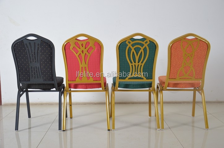 Hotel Unique Furniture Cheap Used Stacking Banquet Chair