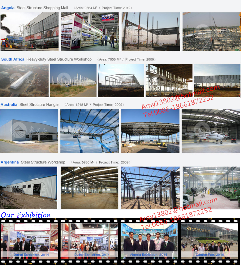 Light frame building design/metal construction steel structure material warehouse