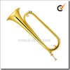 Yellow brass Lacquer Finish Bb key jinbao bugle horn(BGH1600G)