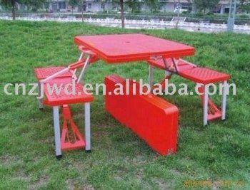 outdoor plastic foldable picnic table real factory buy lightweight mdf small red folding. Black Bedroom Furniture Sets. Home Design Ideas