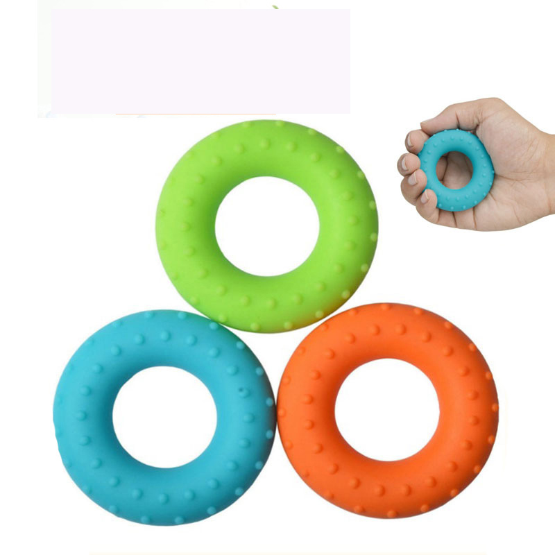 hand held exercise equipment Silicone Hand Grip Exerciser Strengthen Your Grip and Forearms for Men Women