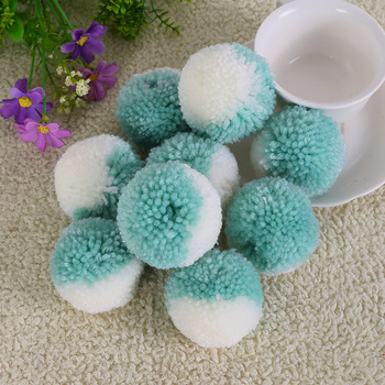 Round 5CM Pompom Balls Colorful Yarn Pom pom Sewing Accessories For Wedding Home Decoration DIY Crafts