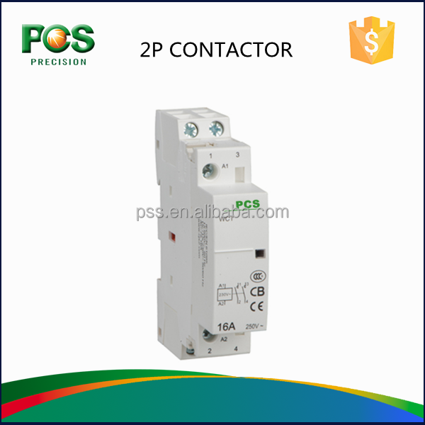 HOT WCT 16A 20A 25A 40A 63A 100A 1 Phase Contactor